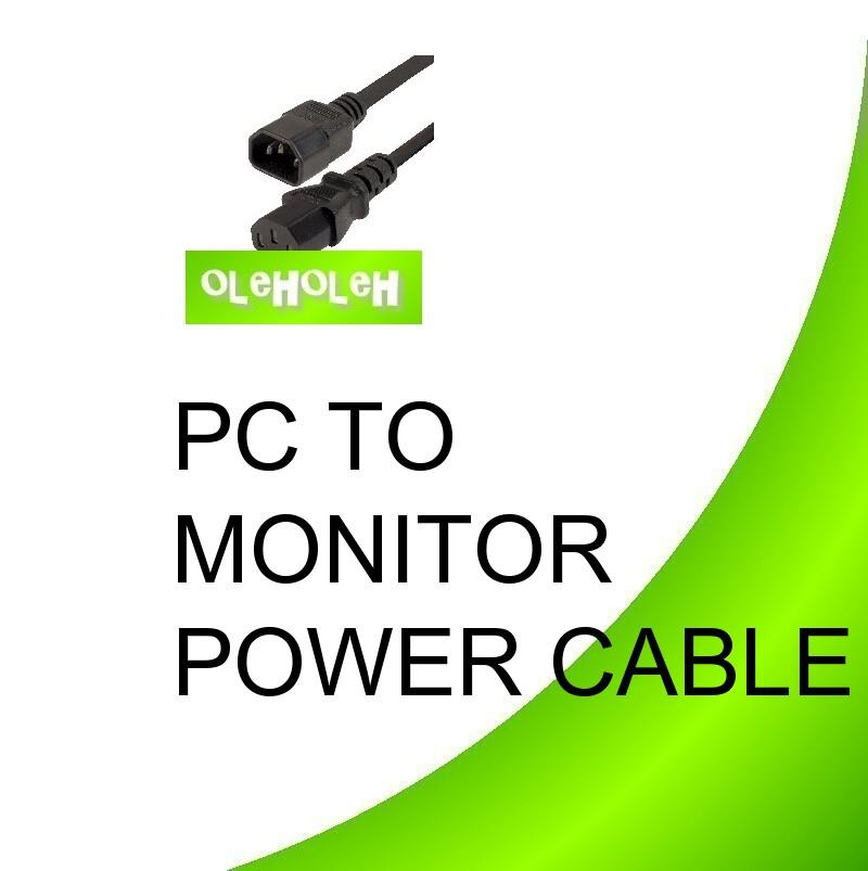 PC to monitor Black