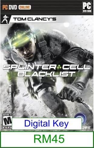 PC Tom Clancy's Splinter Cell Blacklist ★Brand New & Sealed&#973..