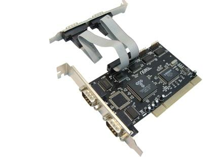 PCI 4 Serial Port 4S Card