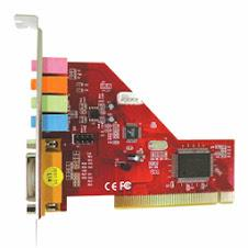 PCI 5.1 CHANNEL SOUND CARD