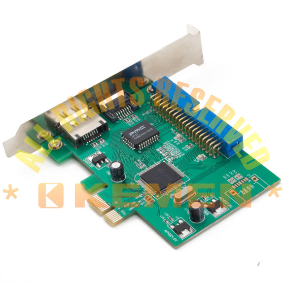 PCI Express to eSATA / SATA / PATA Host Controller