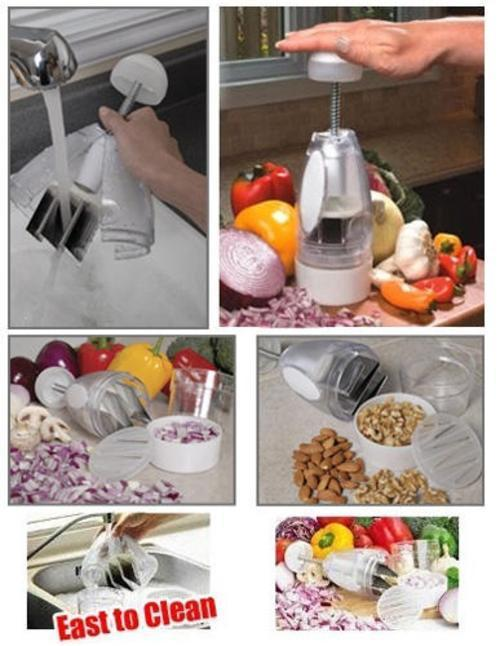 Perfect Chopper Deluxe Kitchen Veggie Vegetable Gourmet Trends Slice C