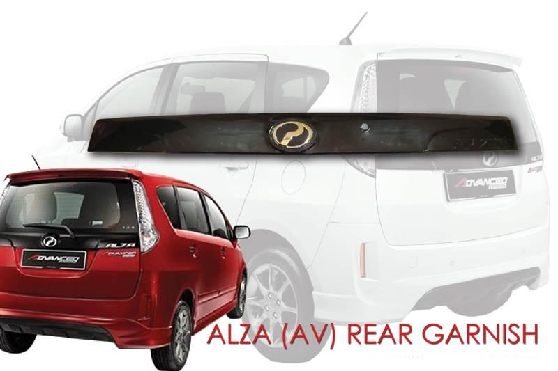 Perodua Alza AV Rear Garnish