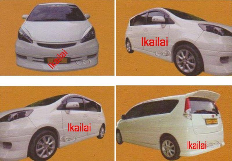 Perodua Alza Fabulous Style [Front+Rear bumper+Side Skirt+door panel 6