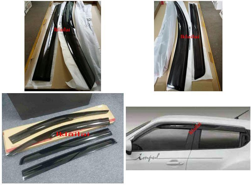 Perodua Alza / Proton Exora Impul Injection Style Door Visor 4pcs/set