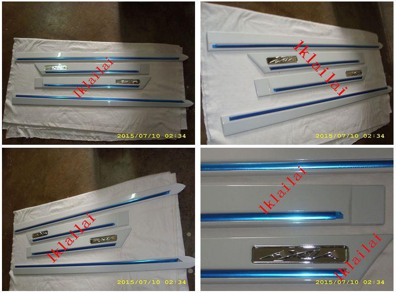 Perodua Axia Door Moulding with Chrome Lining [4pcs/set]