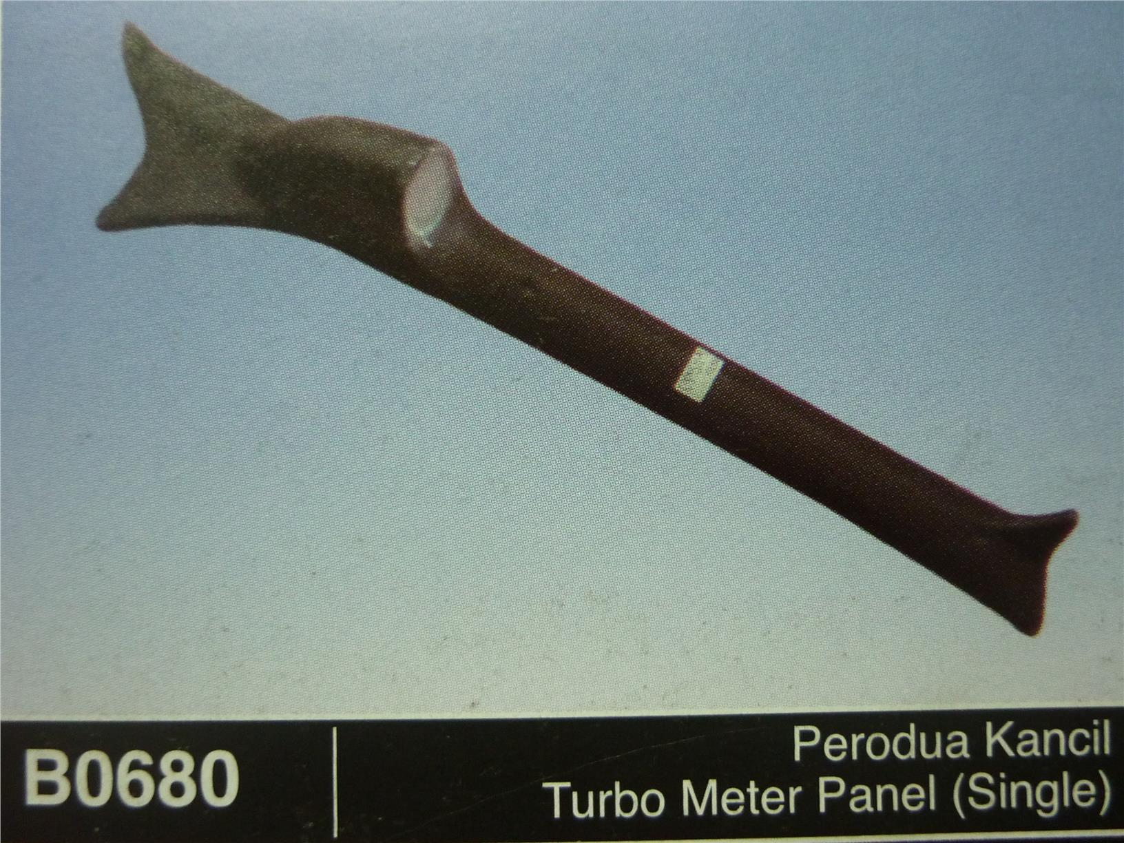 PERODUA KANCIL TURBO METER PANEL SINGLE B0680