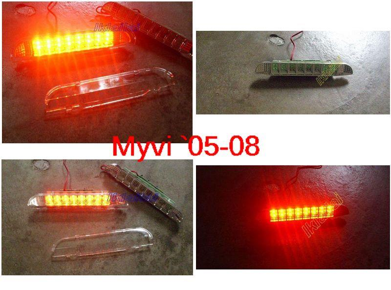 Perodua Myvi '05 / Lagi Best  Third Brake Light Clear Lens (16pcs LED)