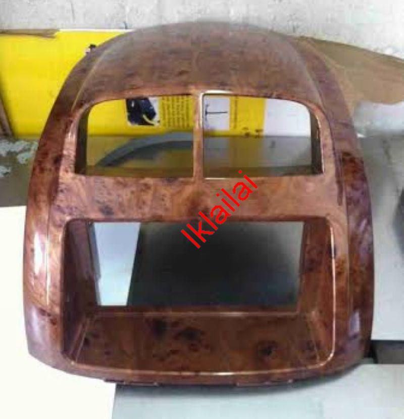 Perodua Myvi Double Din Casing / Dashboard Casing Panel [Wood]