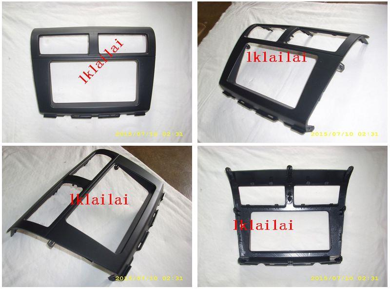 PERODUA MYVI Lagi Best '11 Double Din Player Dashboard Casing Panel Bl
