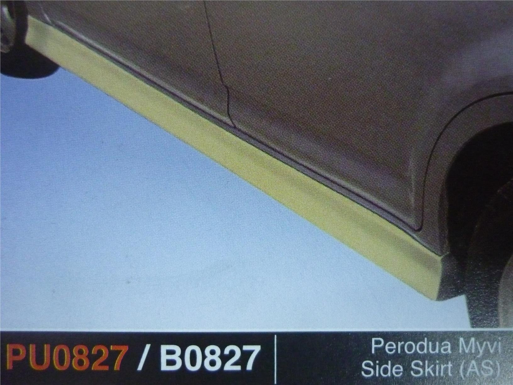 PERODUA MYVI SIDE SKIRT AS PU0827 B0827