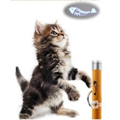 Pet Supply Cat Dog Interactive Toy LED Pointer Laser Projection Pen