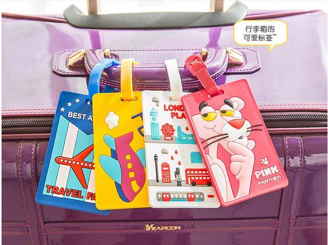 PH041 Trendy Silicon Luggage Tag