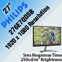 PHILIPS 276E7QDSB 27' LED MONITOR