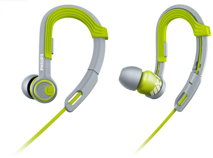PHILIPS ACTIONFIT SPORTS IN EAR EARPHONE SHQ3300 (GREEN)