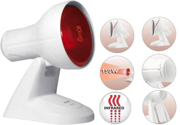 Philips HP3616 Infraphil Lamp Relieves Muscular Pains