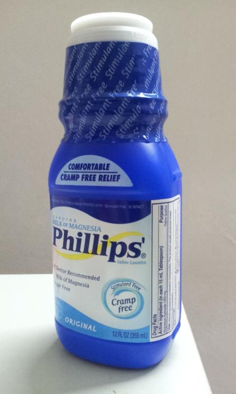 What is in Phillips Milk of Magnesia?
