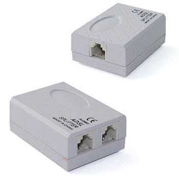 Phone Telephone ADSL Splitter Modem RJ11 Line Filter HL-2003