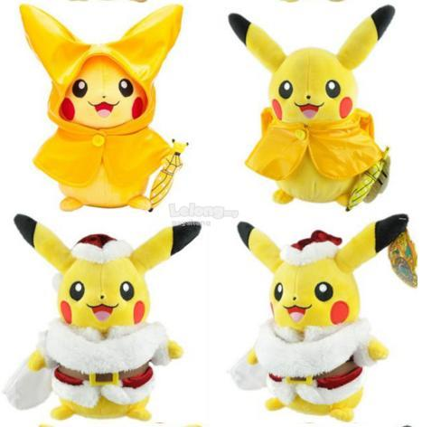 Pickachu custume in pokemon plush toy gift