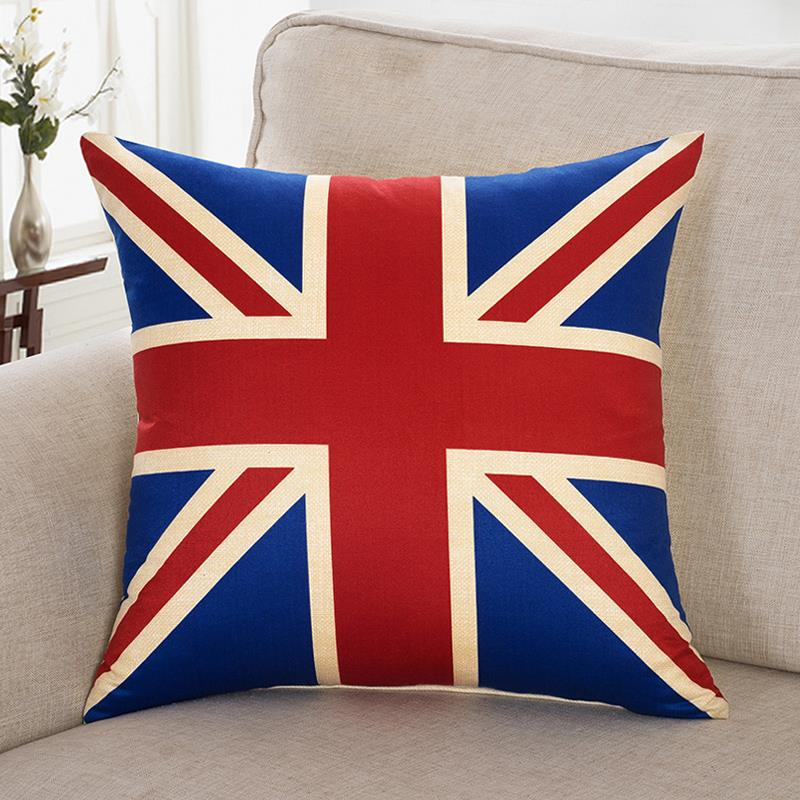 Pillow Case Cushion Cover Home Sofa Decorative(40*40cm) En