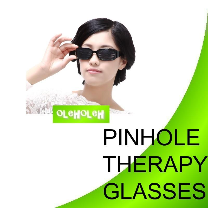 Pinhole Therapy Glasses Recover Short and Long Sightedness Specs