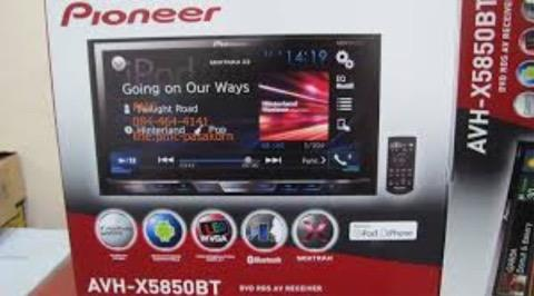 Pioneer AVH-X5850BT car double din new launching