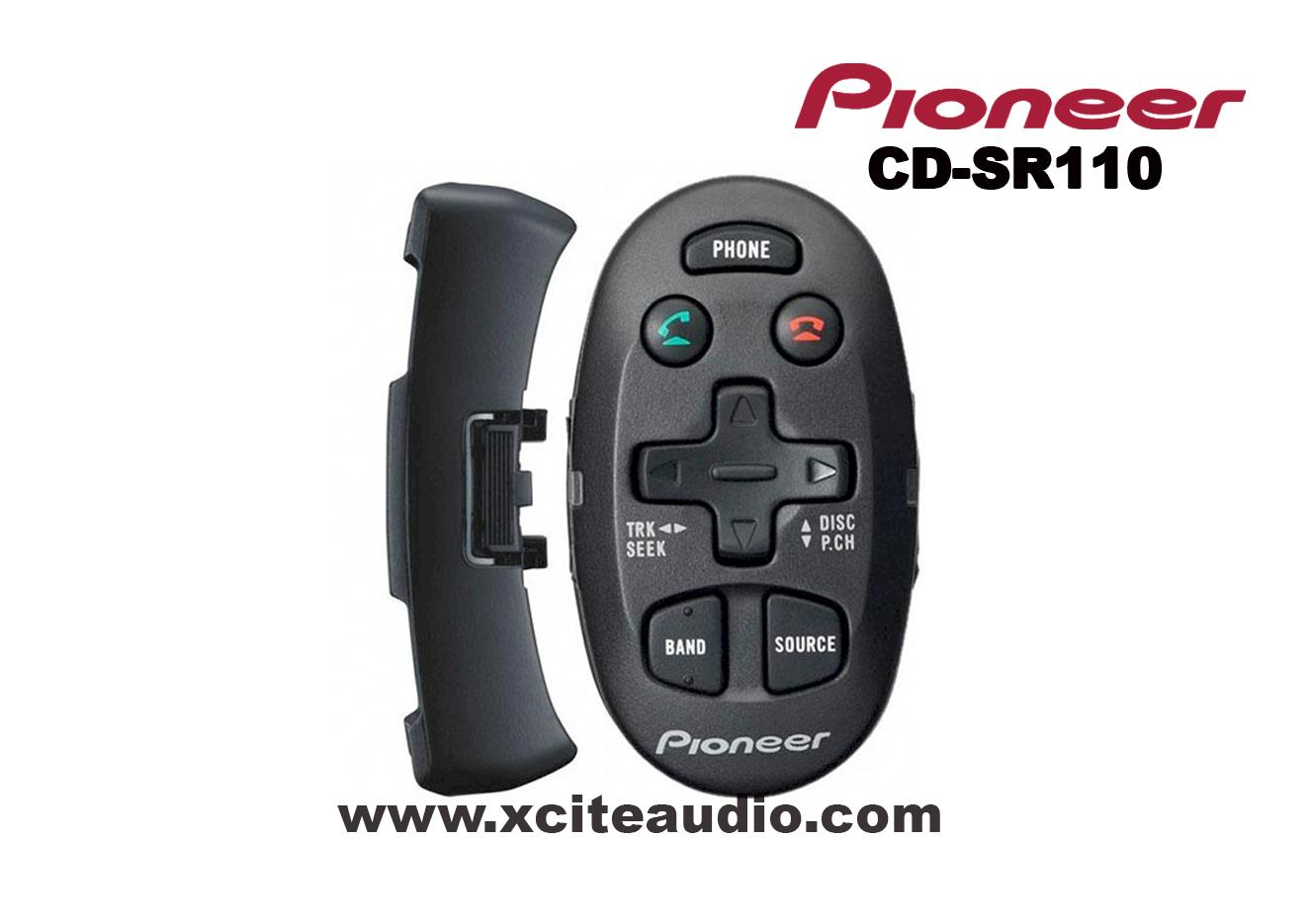 Pioneer CD-SR110 Steering Wheel Remote Control with Bluetooth operatio