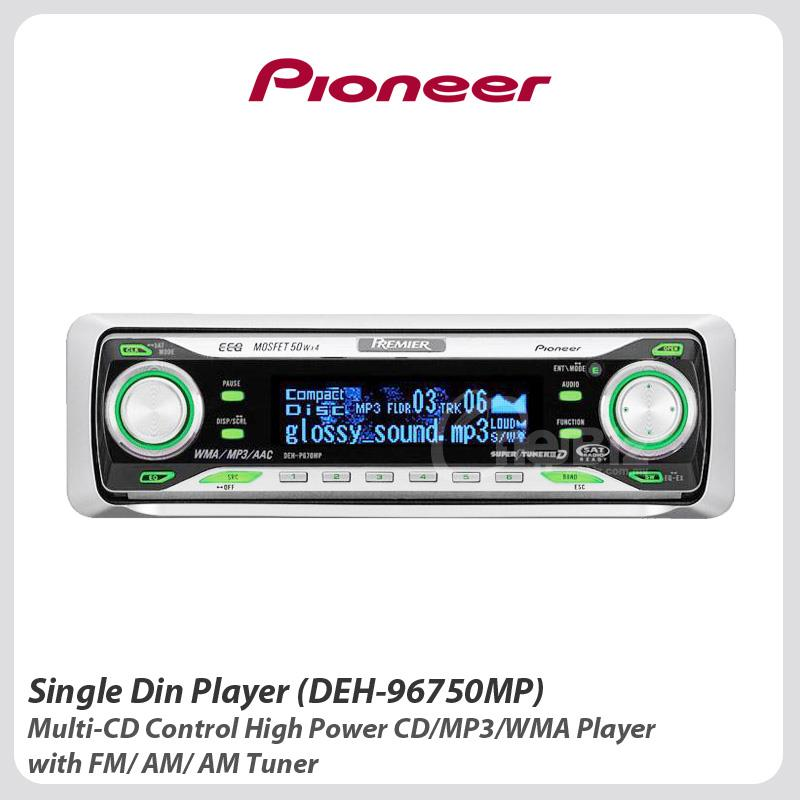 Pioneer Single Din Player