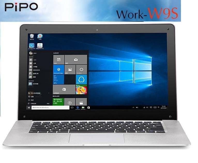 Pipo W9S 14.1'IPS 4GB 64GB Intel Cherry Trail Z8300 Win10 Laptop Tab