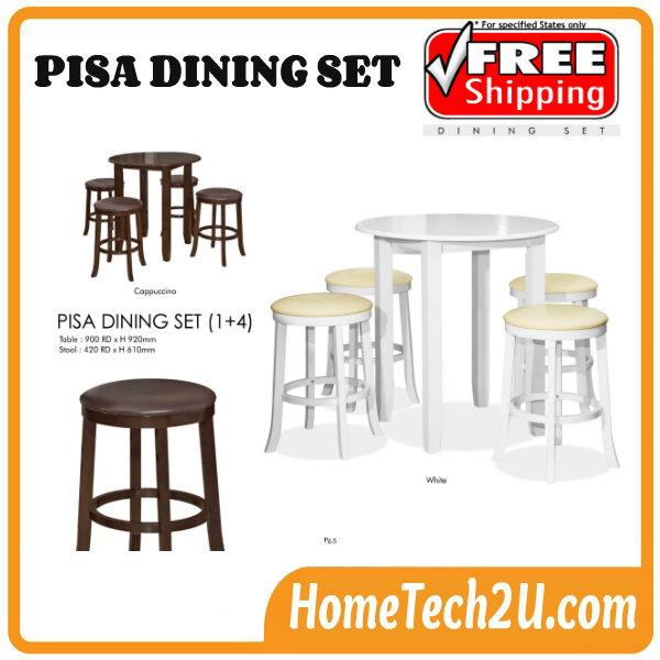 Pisa Rounded Dining Table With Stools Set 14 : pisa rounded dining table stools set 1 4 free shipping chye9815 1411 17 chye98158 from www.hometech2u.com.my size 600 x 600 jpeg 50kB