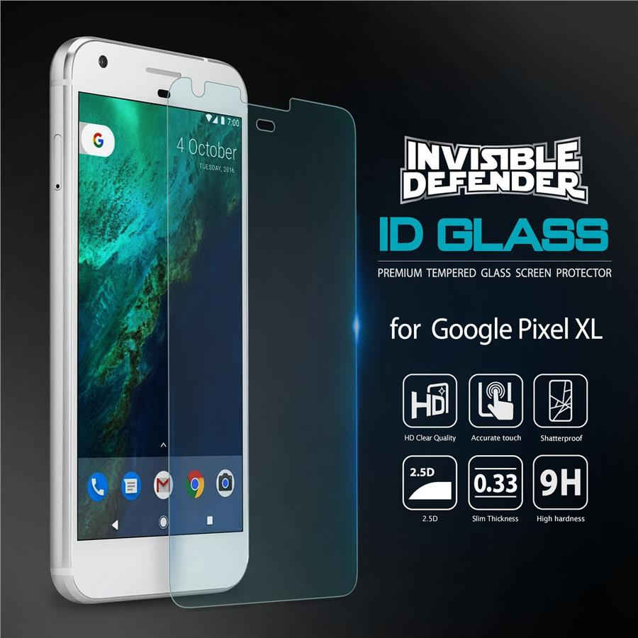 [Pixel & XL] Ringke Invisible Defender Glass for Google Pixel & XL