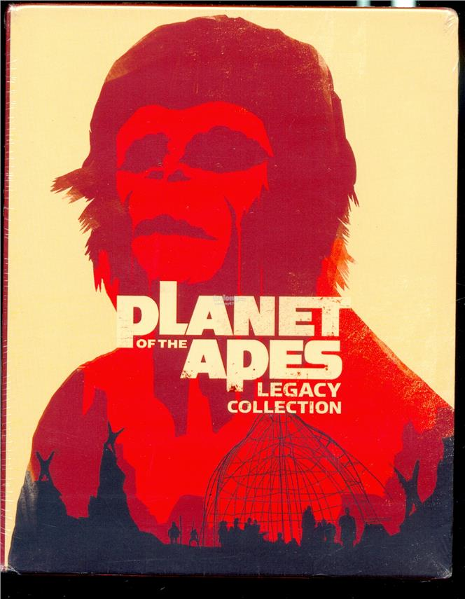 Planet Of The Apes  Legacy Collection - New Blu-Ray