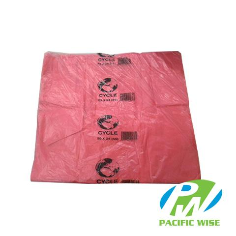 Plastic Bag 20'' x 24'' (Small) - Pink
