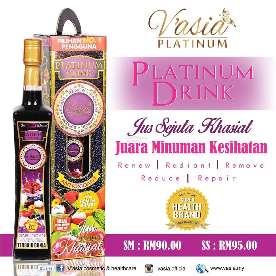 Platinum Drink V'Asia 500ml