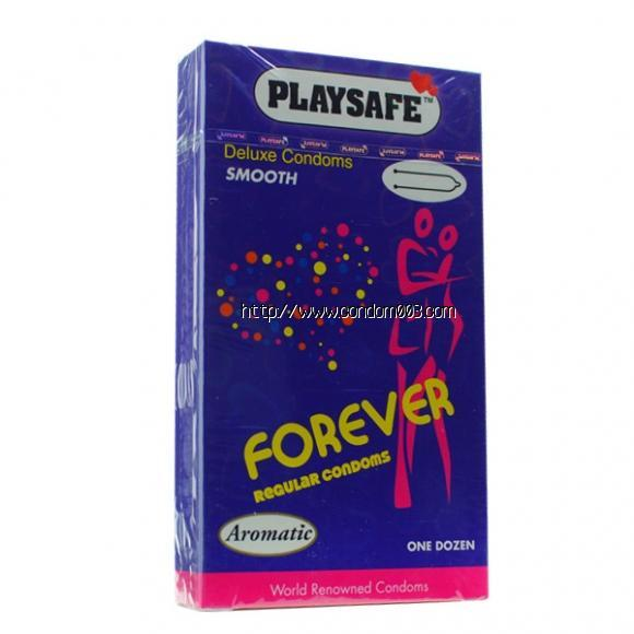 PLAYSAFE FIT-TEX FOREVER CONDOM - 12's
