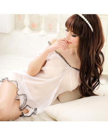 [PM-1393-3414] Stylish Women Fashion Sexy Lingerie White