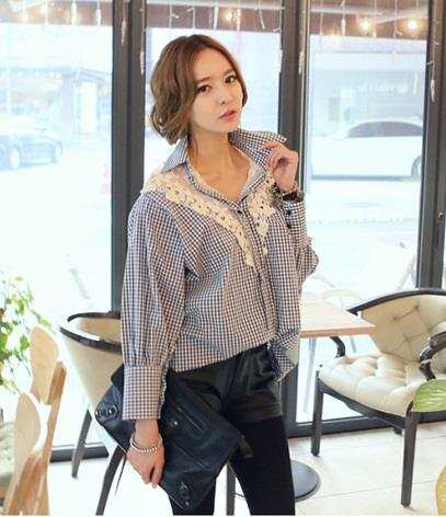 [PM-405-4490-FS] Fashion Woman Casual Wear Stylish Top As Picture