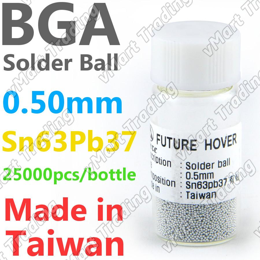 PMTC Sn63Pb37 BGA Solder Ball  25K 0.50mm