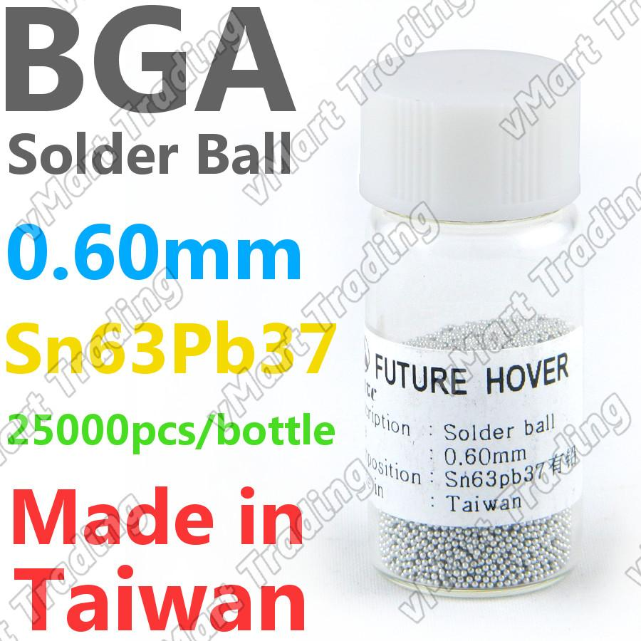 PMTC Sn63Pb37 BGA Solder Ball  25K 0.60mm
