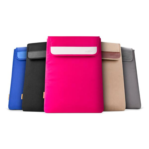 Pofoko Easy Series laptop sleeve Black, Pink, Gold, Blue, Grey
