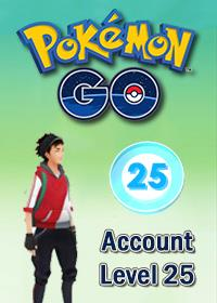 Pokémon GO Account - Level 25