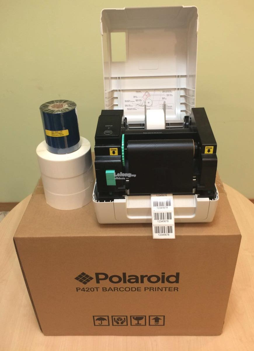 POLAROID BARCODE PRINTER