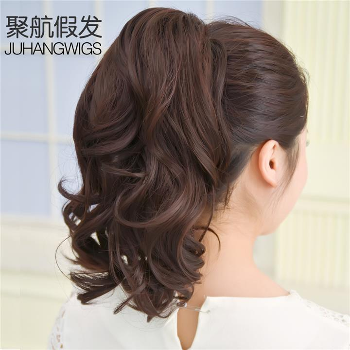 Pony tail clip wig extension 25cm O12/ ready stock/ rambut palsu