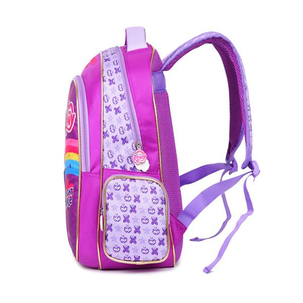 MY LITTLE PONY TWILIGHT SPARKLE PURPLE SCHOOL BAG