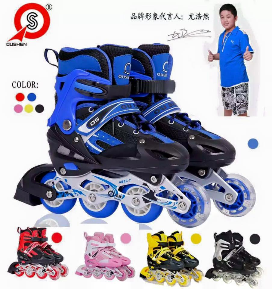 Roller skate shoes malaysia - Popular Pvc Led Wheels Kids Adults Flashing Roller Skate Shoes