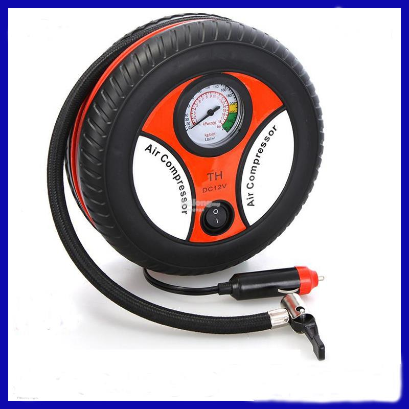 Portable Mini Electrical Tyre Pump For Cars, Motorcycles, Bicycles