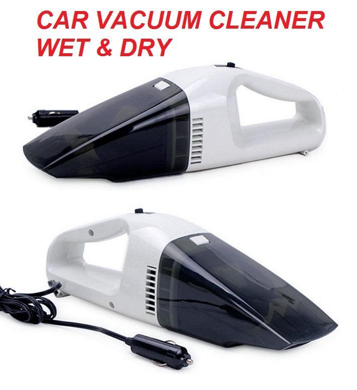 Portable Powerful 12V Car Vacuum Cleaner Wet Dry