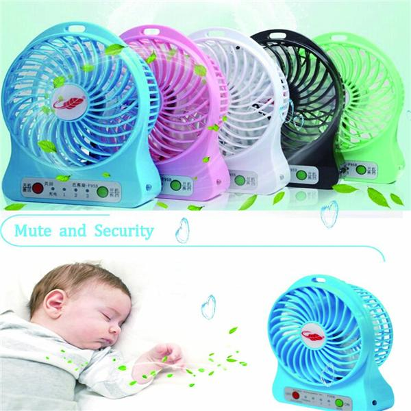 PORTABLE RECHARGEABLE MINI FAN