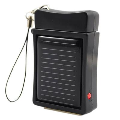 Portable Solar Charger for iPhone 4G/3G/3GS/iPod - Black