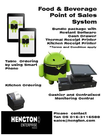 POS(Point of Sales) System for Restaurant + Android APP - GST Ready